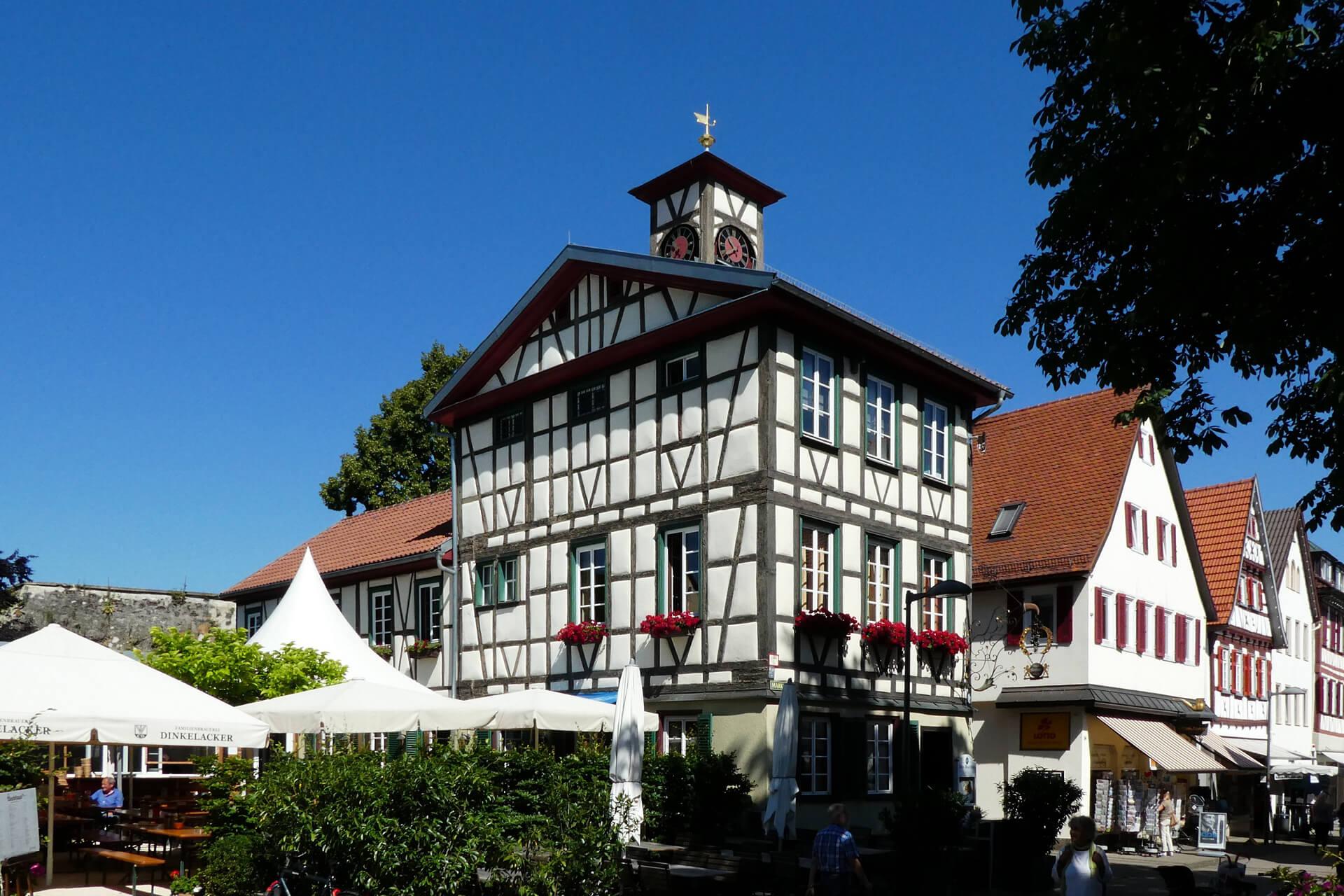 Innenstadt von Kirchheim unter Teck